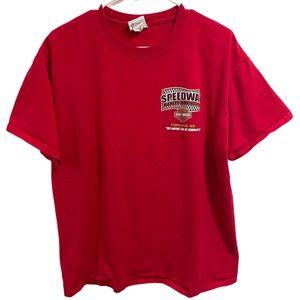 Harley Davidson Concord, NC Shirt Red Size L